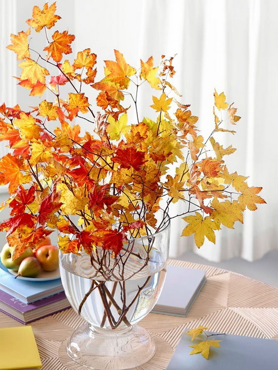 Easy Ways Using Autumn Leaves _38