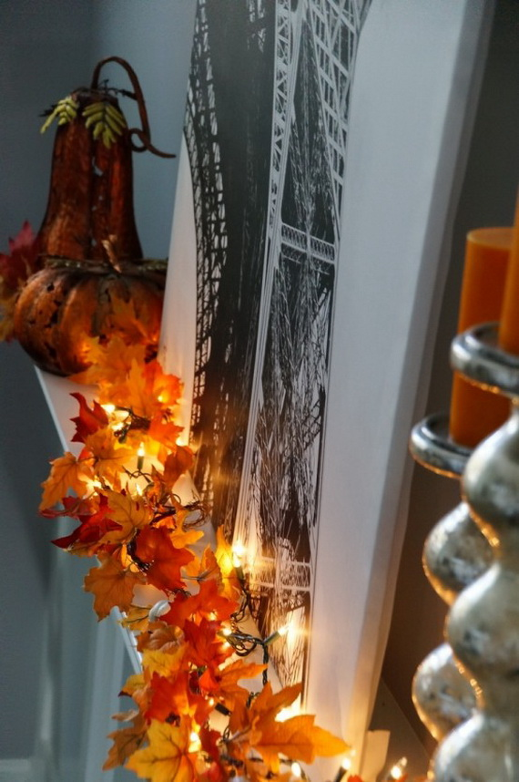 Easy Ways Using Autumn Leaves _45