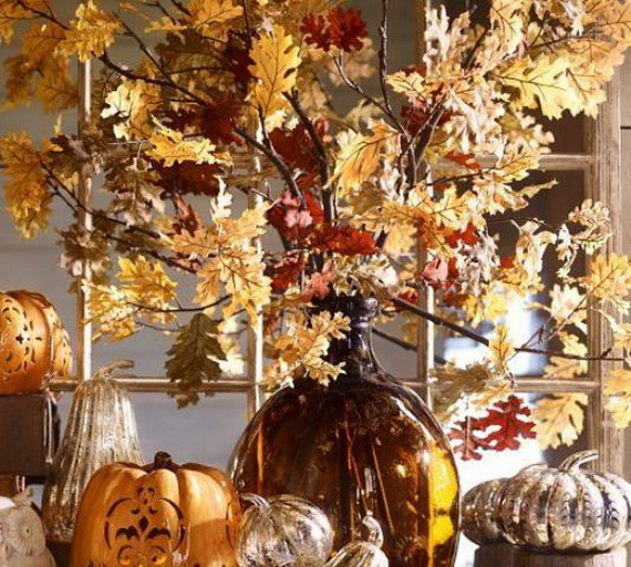 Easy Ways Using Autumn Leaves _57