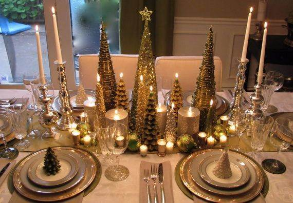 Elegant Table Centerpiece Ideas For Christmas 2017 16