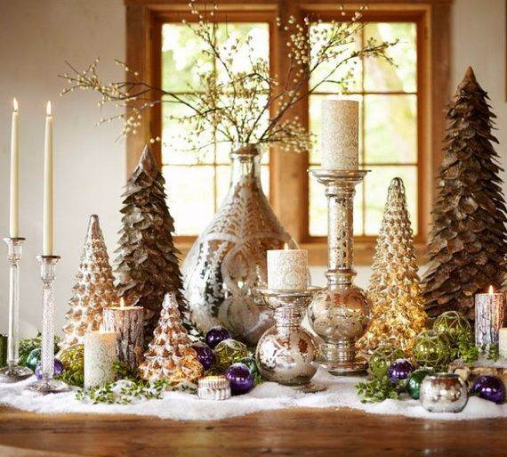 60 elegant table centerpiece ideas for christmas family Home decorating ideas for christmas holiday
