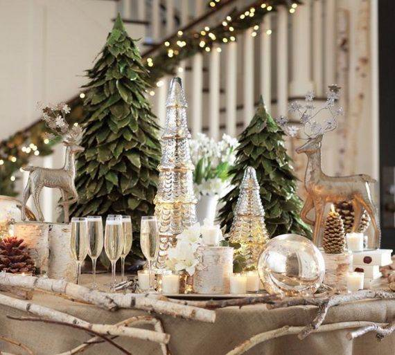 60 Elegant Table Centerpiece Ideas For Christmas Family