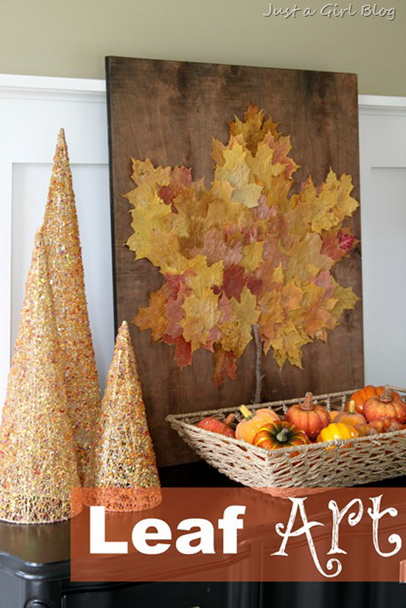 Fall Decor Crafts-Easy Fall Leaf Art Projects (14)_resize