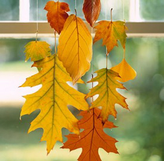 Art Ideas With Leaves: Fall Decor Crafts-Easy Fall Leaf Art Projects