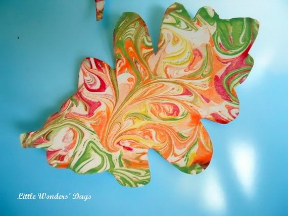 Fall Decor Crafts-Easy Fall Leaf Art Projects (2)_resize