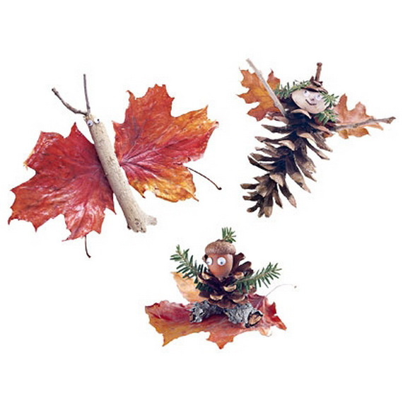 Fall Decor Crafts-Easy Fall Leaf Art Projects (60)_resize