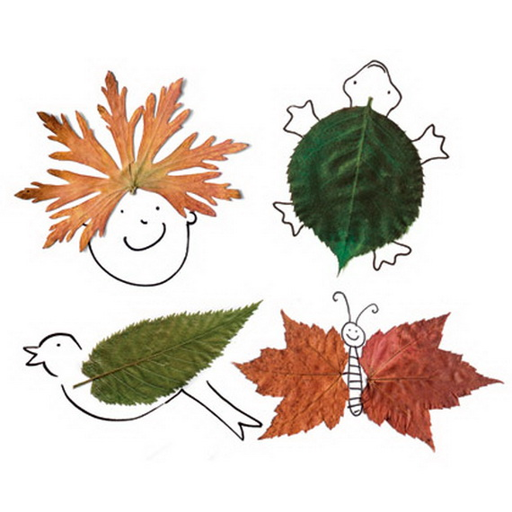Fall Decor Crafts-Easy Fall Leaf Art Projects (7)_resize
