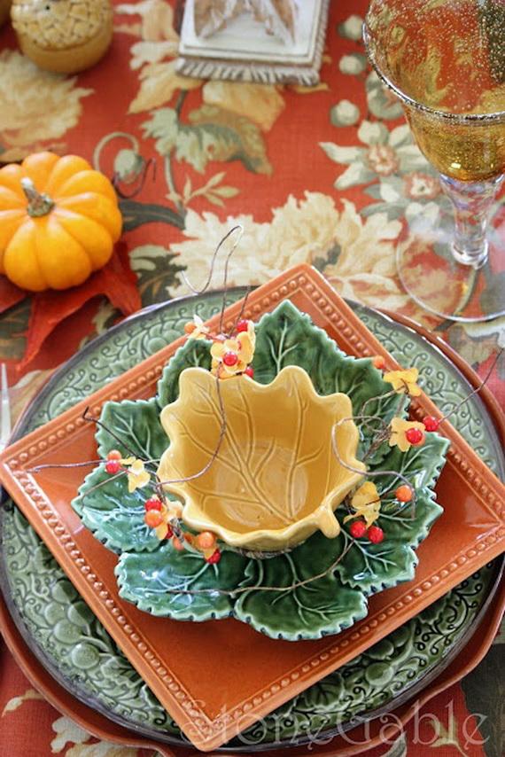 Fall Dining Room Ideas  (11)