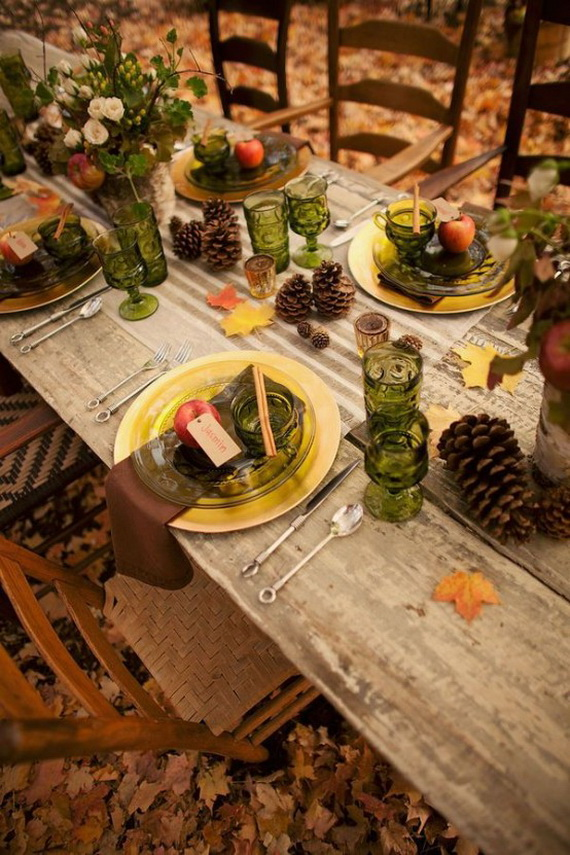 Fall Dining Room Ideas  (23)