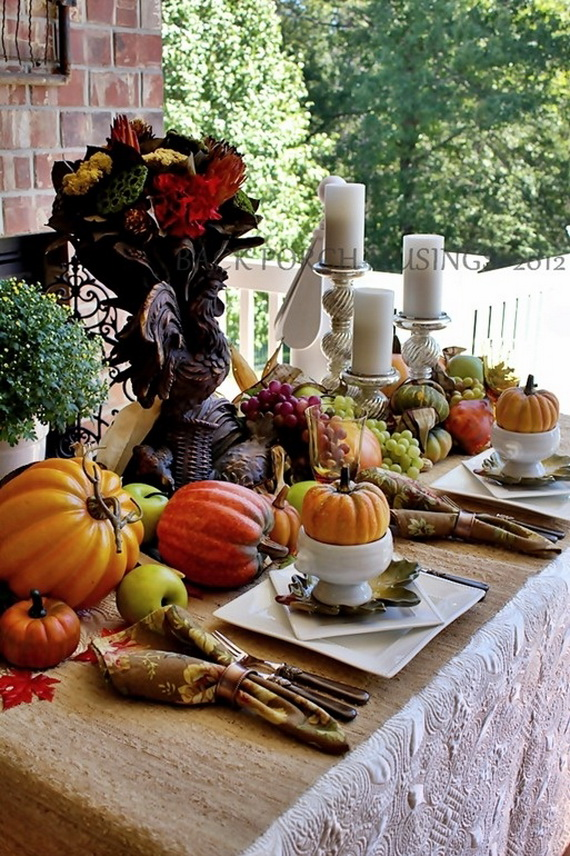 Fall Dining Room Ideas  (7)