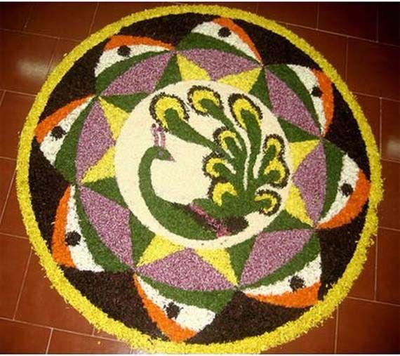 Indian Floral Design For Onam Festival (15)