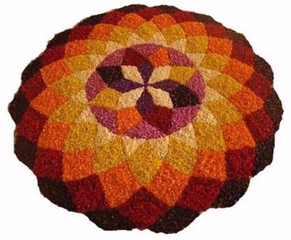 Indian Floral Design For Onam Festival (42)