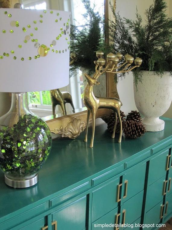 amazing home interior designing for wonderful christmas. Black Bedroom Furniture Sets. Home Design Ideas