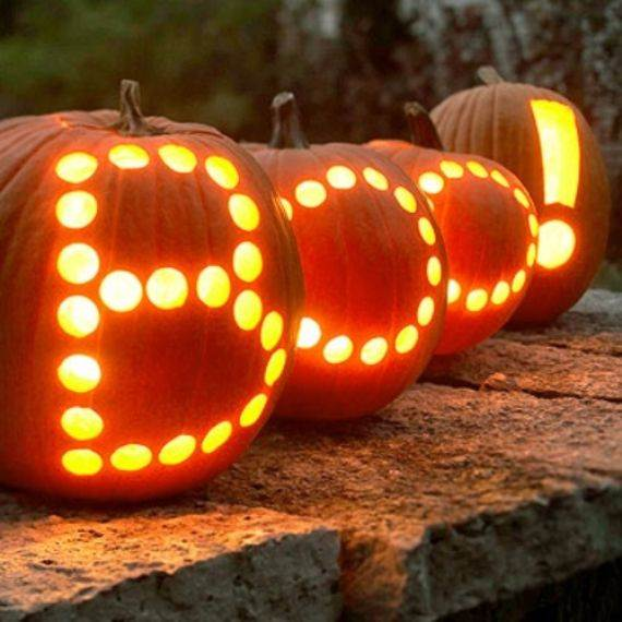 pumpkin carving ideas for wonderful halloween day 9 - Cool Halloween Pumpkin Designs