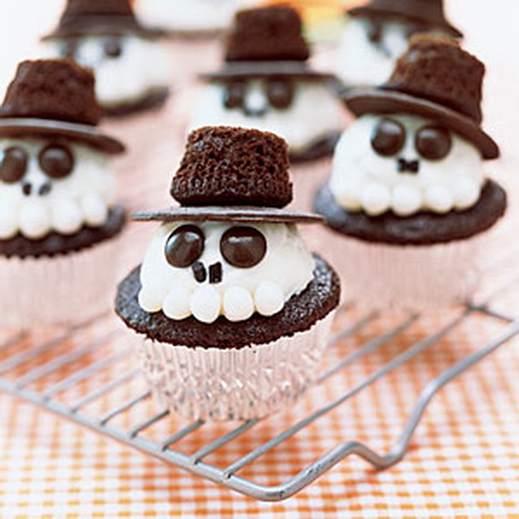 Spooky halloween cupcake ideas family Cute easy halloween cakes