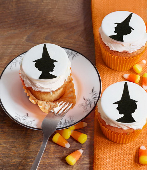 Chocolate Pumpkin Witch Cupcakes advise