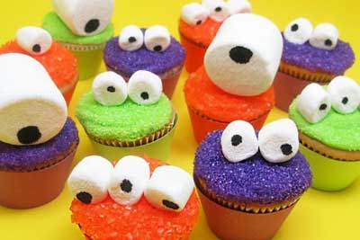 spooky halloween cupcake ideas - Cupcake Decorations For Halloween
