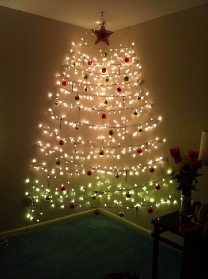 60 Wall Christmas Tree