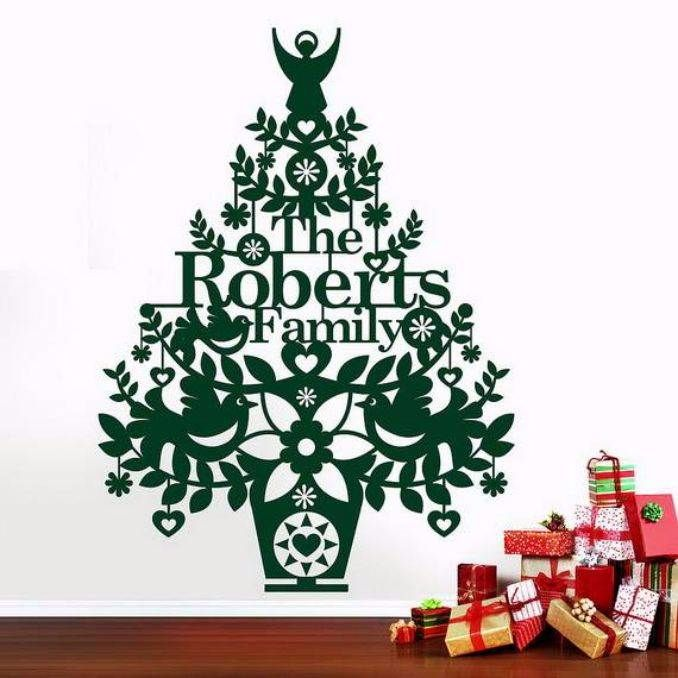 ... Wall Christmas Tree Alternative Christmas Tree Ideas_52 ...