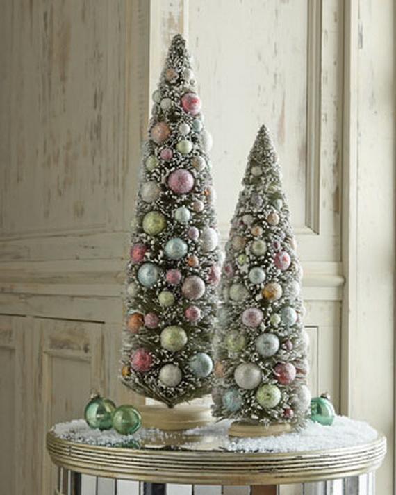 2013Tabletop Christmas Trees for the Holiday Season_13