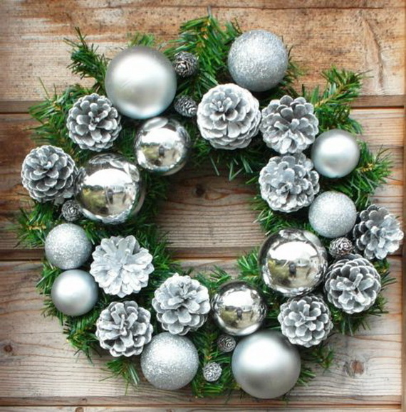 50 Great Christmas Wreath Ideas To Keep The Traditions Alive_02