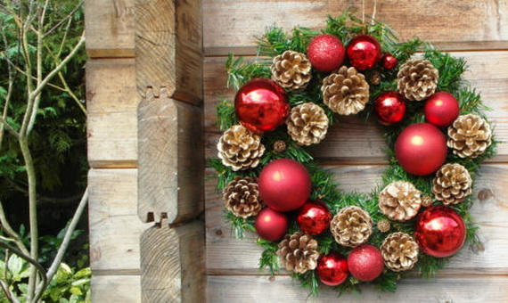 50 Great Christmas Wreath Ideas To Keep The Traditions Alive_05