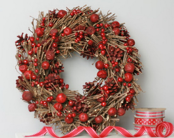 50 Great Christmas Wreath Ideas To Keep The Traditions Alive_09