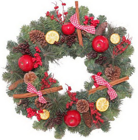 50 Great Christmas Wreath Ideas To Keep The Traditions Alive_20