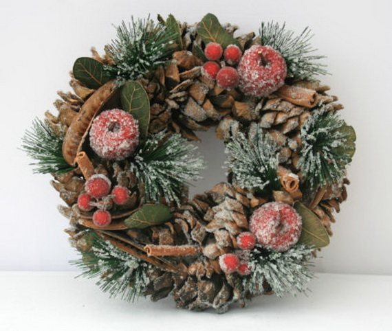50 Great Christmas Wreath Ideas To Keep The Traditions Alive_21