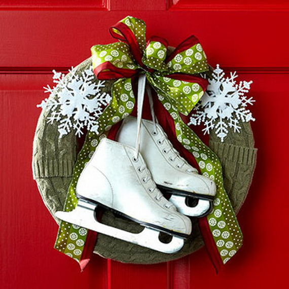 50 Great Christmas Wreath Ideas To Keep The Traditions Alive_22