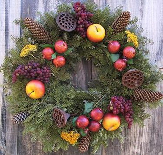 50 Great Christmas Wreath Ideas To Keep The Traditions Alive_31