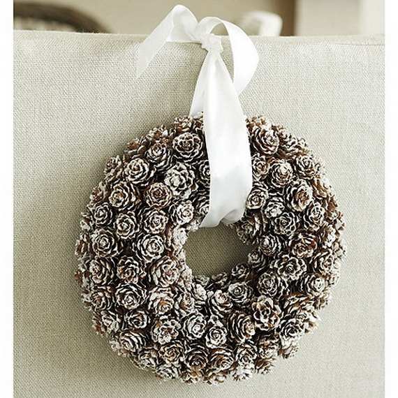 50 Great Christmas Wreath Ideas To Keep The Traditions Alive_38