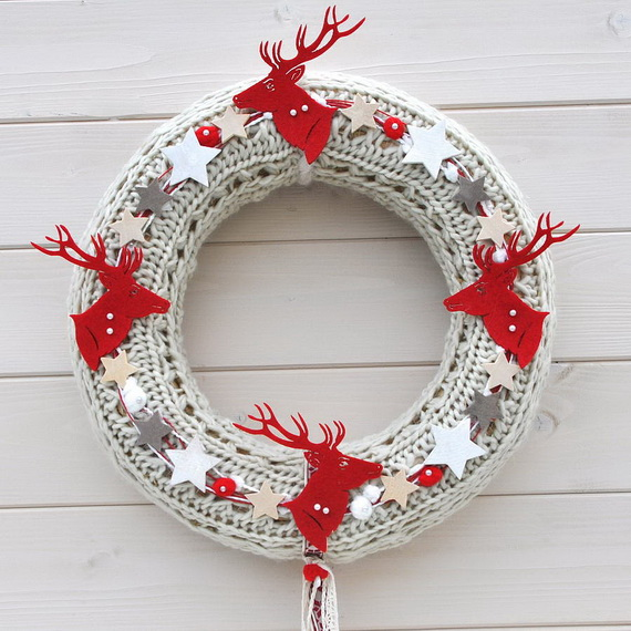 50 Great Christmas Wreath Ideas To Keep The Traditions Alive_43