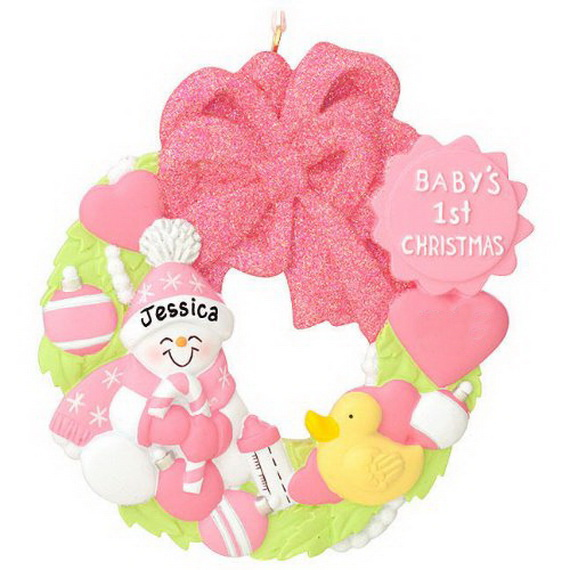 Baby's First Christmas Ornament Ideas     _15