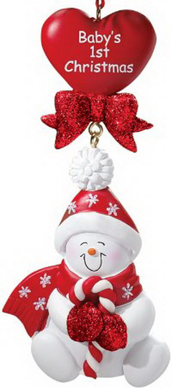 Baby's First Christmas Ornament Ideas     _21