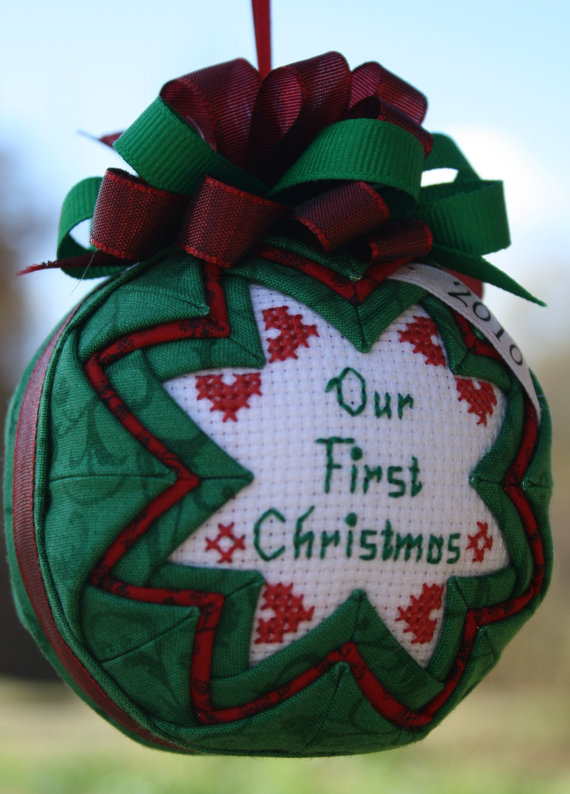 Baby First Christmas Craft Ideas Part - 28: Babyu0027s First Christmas Ornament Ideas _37