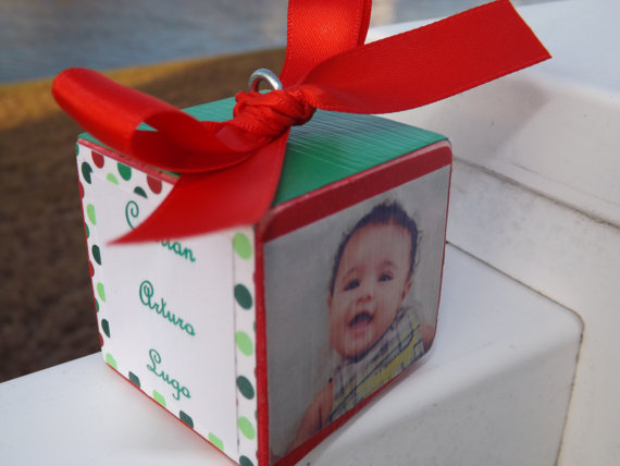 Baby's First Christmas Ornament Ideas     _46
