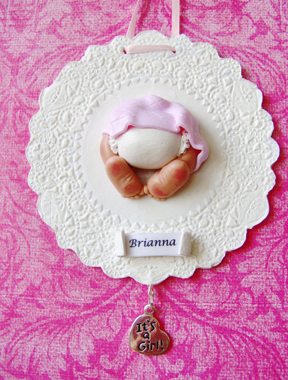 Baby's First Christmas Ornament Ideas     _48