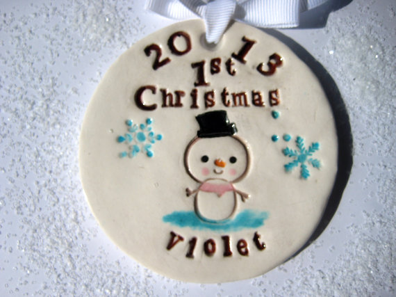 Baby's First Christmas Ornament Ideas     _50
