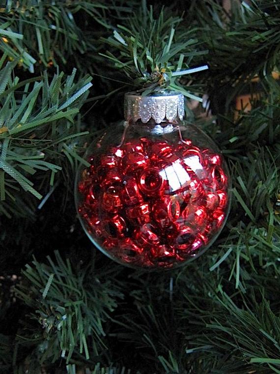 Clear Christmas Ornaments Craft Ideas Part - 31: Beauty Christmas Ornament Decoration Ideas_31