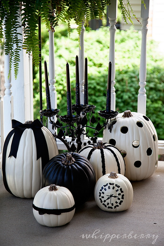 Elegant White Halloween Ideas Family