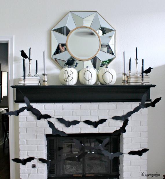 Elegant White Halloween Ideas Family