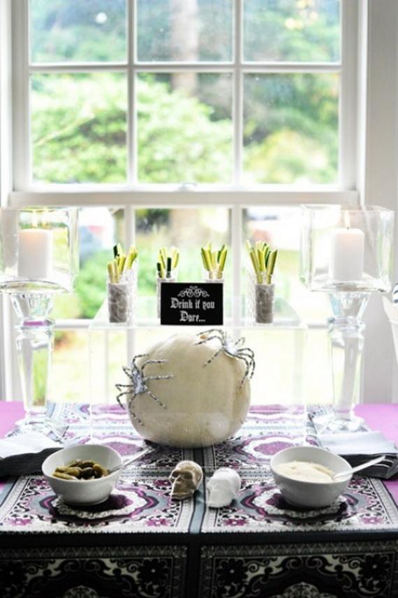 Elegant White Halloween Ideas_46