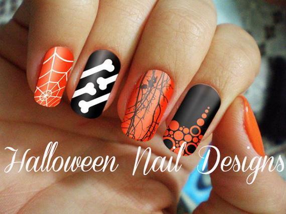 Gorgeous Ghastly Halloween Nail Art Designs (1)