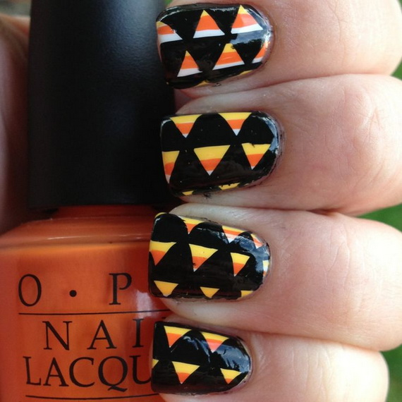 Gorgeous Ghastly Halloween Nail Art Designs (16)