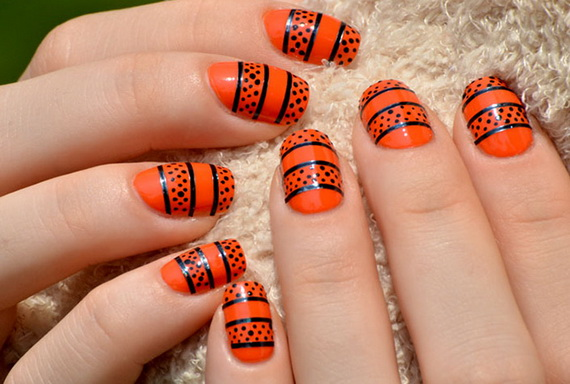 Gorgeous Ghastly Halloween Nail Art Designs (35)