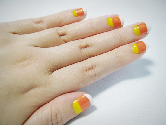 Gorgeous Ghastly Halloween Nail Art Designs (37)