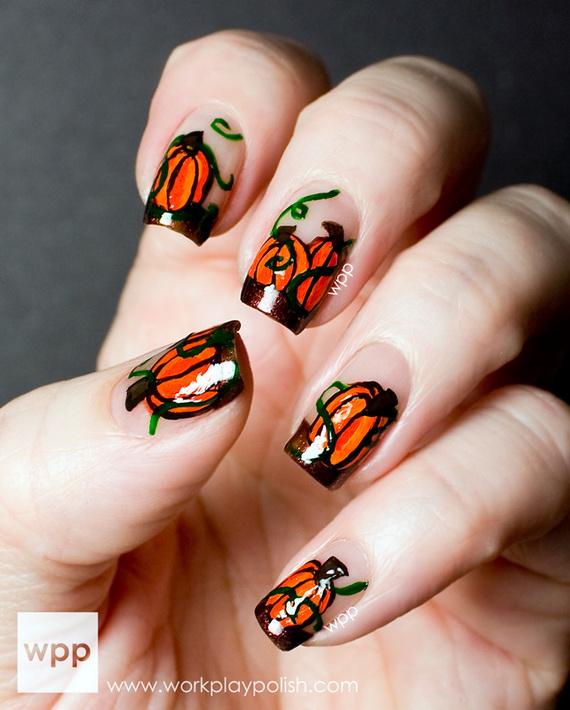 Gorgeous Ghastly Halloween Nail Art Designs (46)
