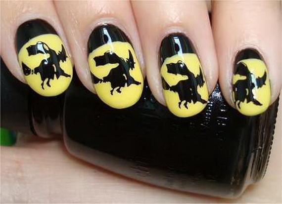 Gorgeous Ghastly Halloween Nail Art Designs (5)