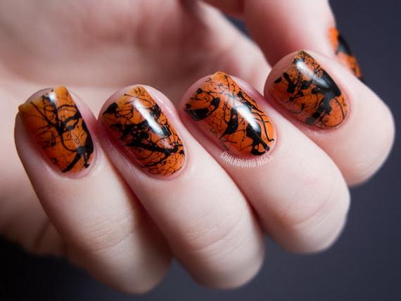 Gorgeous Ghastly Halloween Nail Art Designs (9)